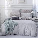 Комплект постельного белья Сатин вышивка CN036 4 наволочки, Нижний Новгород