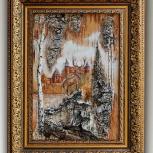 Картины на бересте, живопись, пейзаж. Виды Нижнего Новгорода, Нижний Новгород