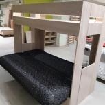 Двухъярусная кровать нижний новгород дзержинск плюс диван и матрас, Нижний Новгород
