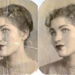 реставрация ретушь старых фотографий лица, Нижний Новгород