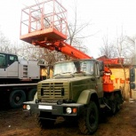 Аренда автовышки 22 метра Телескоп ВЕЗДЕХОД, Нижний Новгород