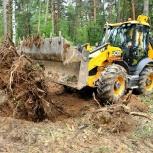 Расчистка участка под строительство, Нижний Новгород