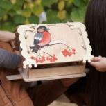 Кормушка (скворечник) для птиц с местом для декупажа, Нижний Новгород