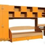 Детский кровать шкаф стол полки Оранж все целиком, Нижний Новгород