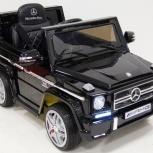 Детский электромобиль Mercedes G65 AMG черный мат, Нижний Новгород