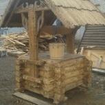 Купить домик на колодец, резной оголовок для колодца, Нижний Новгород