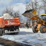 Уборка снега трактором мтз, Нижний Новгород