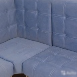 Кухонная скамья дуб сонома велюр голубой новая, Нижний Новгород
