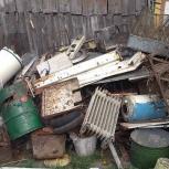 Вывоз не нужного металлолома с дач, гаражей, Нижний Новгород