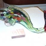 Продам статуэтку рыба цветное стекло СССР, Нижний Новгород