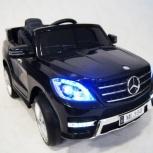 Детский электромобиль Mercedes ML350 черный Кредит, Нижний Новгород