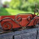 Цветник кованый, телега, карета, велосипед, Нижний Новгород
