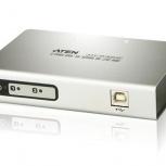 Конвертер переходник USB на 2xCOM port aten UC2322, Нижний Новгород
