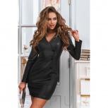 Сдержанное кожаное платье, Нижний Новгород