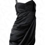 Платье с драпировкой р.42 bonprix черное, Нижний Новгород