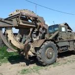 Роем траншеи траншеекопателем ТМК-2, Нижний Новгород