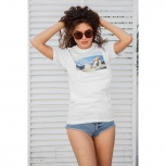 Женская хлопковая футболка, Нижний Новгород