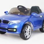 Детский электромобиль BMW P333BP. Синий. Кредит, Нижний Новгород