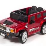 Детский электромобиль Hummer  12в красный глянец, Нижний Новгород