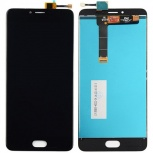 MEIZU Модуль (дисплей+тачскрин) для телефона Meizu U20, Черный (Black), Нижний Новгород
