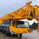 Аренда автокрана LIEBHERR LTM 1160 160 тонн 62(84) метров, Нижний Новгород