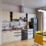 Кухня крафт белый серый графит новая бесплатно доставка, Нижний Новгород