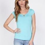 Голубая футболка из распродажи т.м.Lala style, 42 р-р, Нижний Новгород