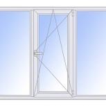Окна пвх трехстворчатые профиль алюминиевый 58мм стеклопакет 32мм, Нижний Новгород