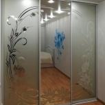 Двери-купе ЗЕРКАЛО с рисунком, Нижний Новгород