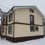 Фасадные работы, штукатурка, мокрый фасад, Нижний Новгород