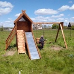 Детский игровой комплекс, Нижний Новгород
