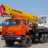 Аренда автокрана 25 тонн 31 метр Вездеход, Нижний Новгород