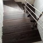 Лестница из массива бука, Нижний Новгород