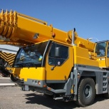 Аренда автокрана liebherr ltm 1055 55 тонн 40(56) метров, Нижний Новгород