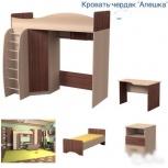 Кровать чердак алешка шимо темный шимо светлый, Нижний Новгород