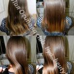 Кератиновое выпрямление, ботокс, ламинирование волос, Нижний Новгород