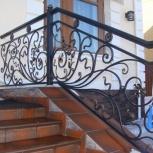 Кованые ворота, забор, лестницы, Нижний Новгород