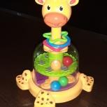Развивающая игрушка Baby Go Жираф с вертушкой, Нижний Новгород