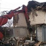 Слом, демонтаж любых строений, Нижний Новгород