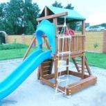 Детская игровая площадка из дерева, Нижний Новгород