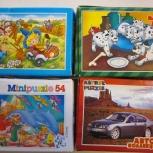 Пазлы детские семь упаковок по 54 и 120 пазлов, Нижний Новгород