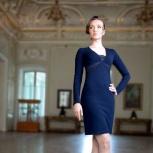 Новое тёмно-синее платье 42 р-ра V&V, Нижний Новгород