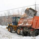 Услуги фронтального погрузчика. Уборка снега, Нижний Новгород