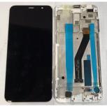 MEIZU Модуль (дисплей+тачскрин) для телефона Meizu M6T, Белый (White), Нижний Новгород