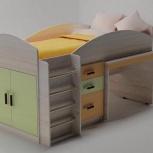 Кровать-чердак мини с выкатным столом, Нижний Новгород