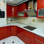 Кухня из пластика красная, Нижний Новгород