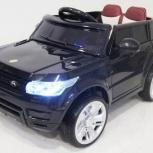 Детский электромобиль Range E004EE черный. Кредит, Нижний Новгород