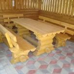 Мебель деревянная ручной работы из массива сосны, Нижний Новгород