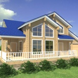 строительство деревянного дома из бруса РАНЧО, Нижний Новгород