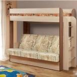 Двухъярусная кровать для детей с диваном бесплатно, Нижний Новгород